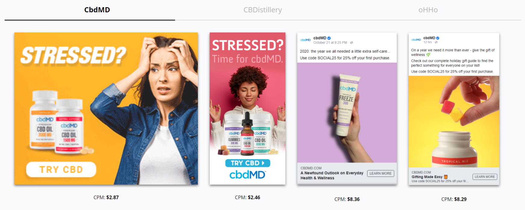 CbdMD - Stress Relief