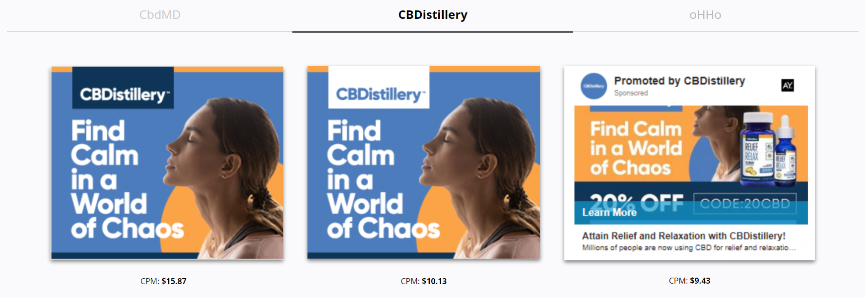CBDistillery - World of Chaos - Finding Calm and Relaxation