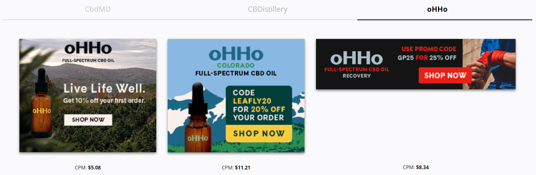 OHHo Botanicals - Promo Codes