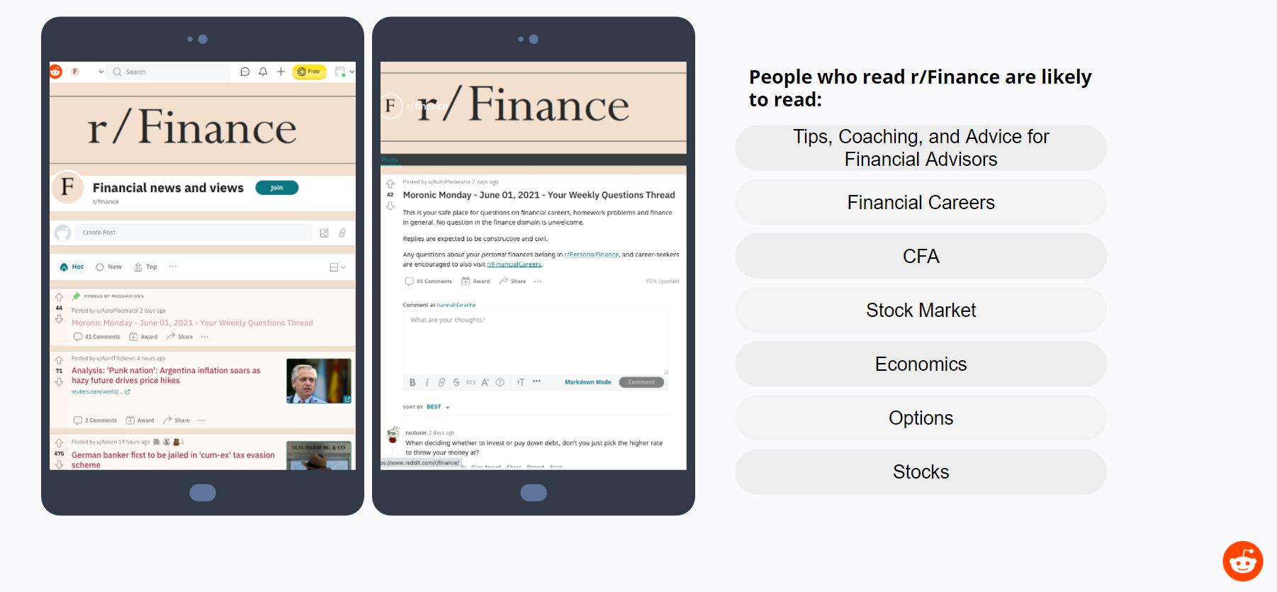 Reddit - Finance Forums
