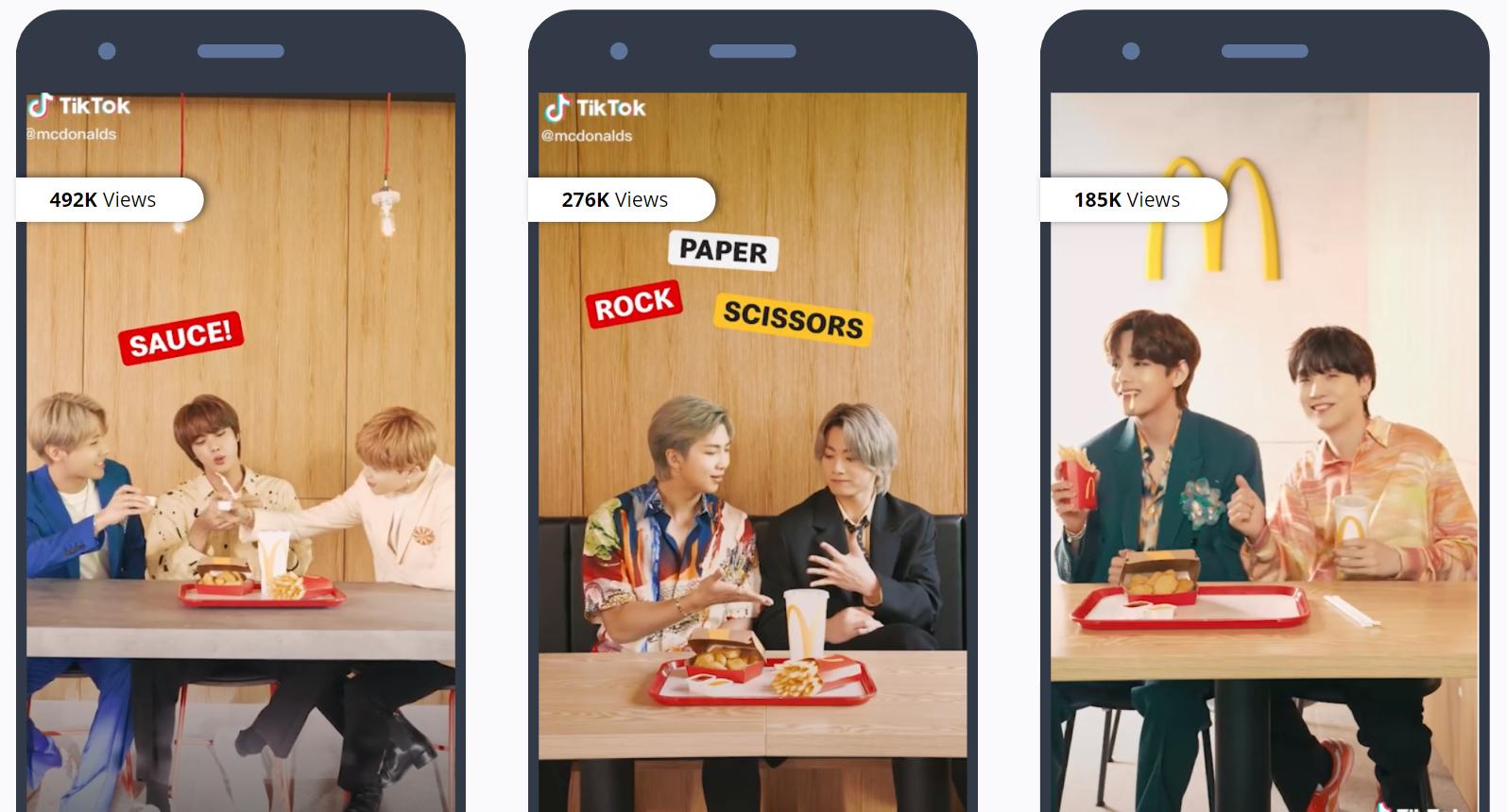 BTS - TikTok - McDonalds