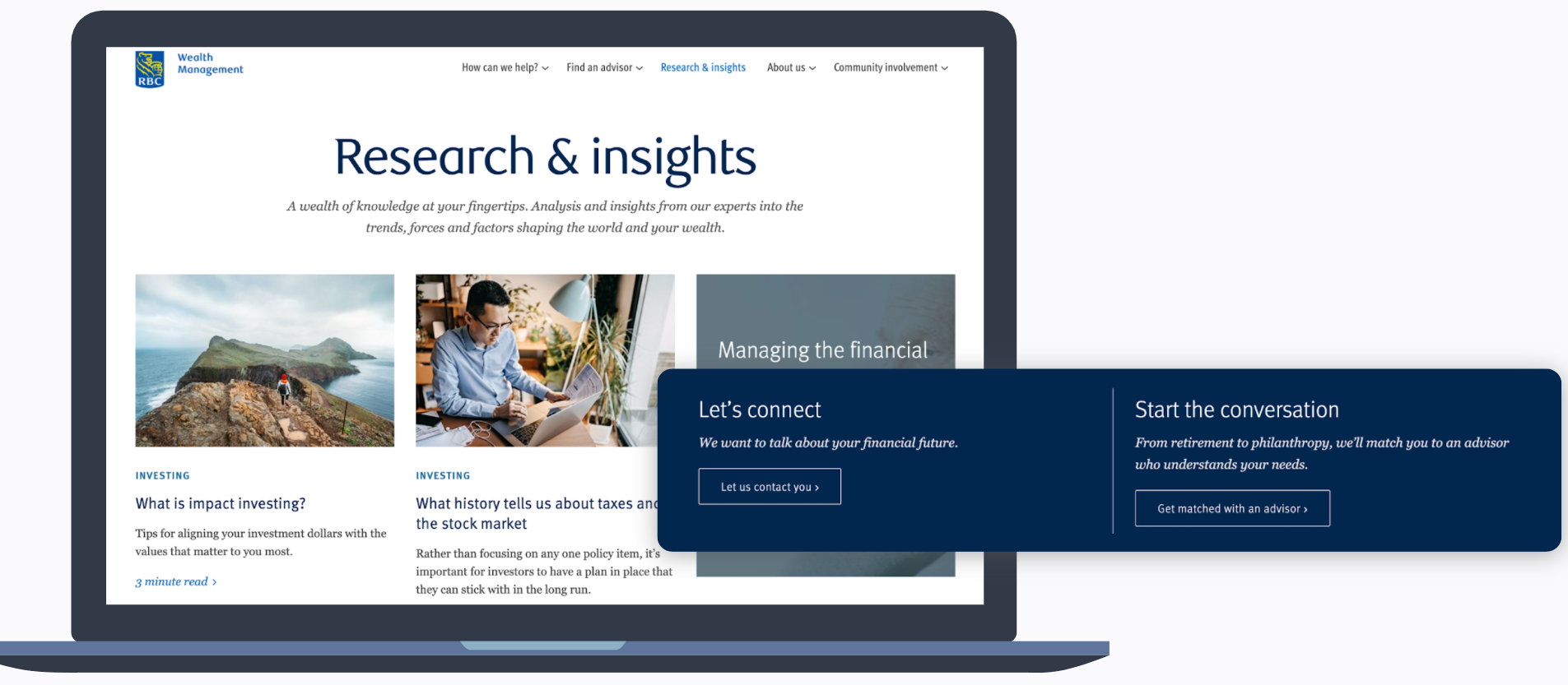 RBC Linkedin - Research & Insights