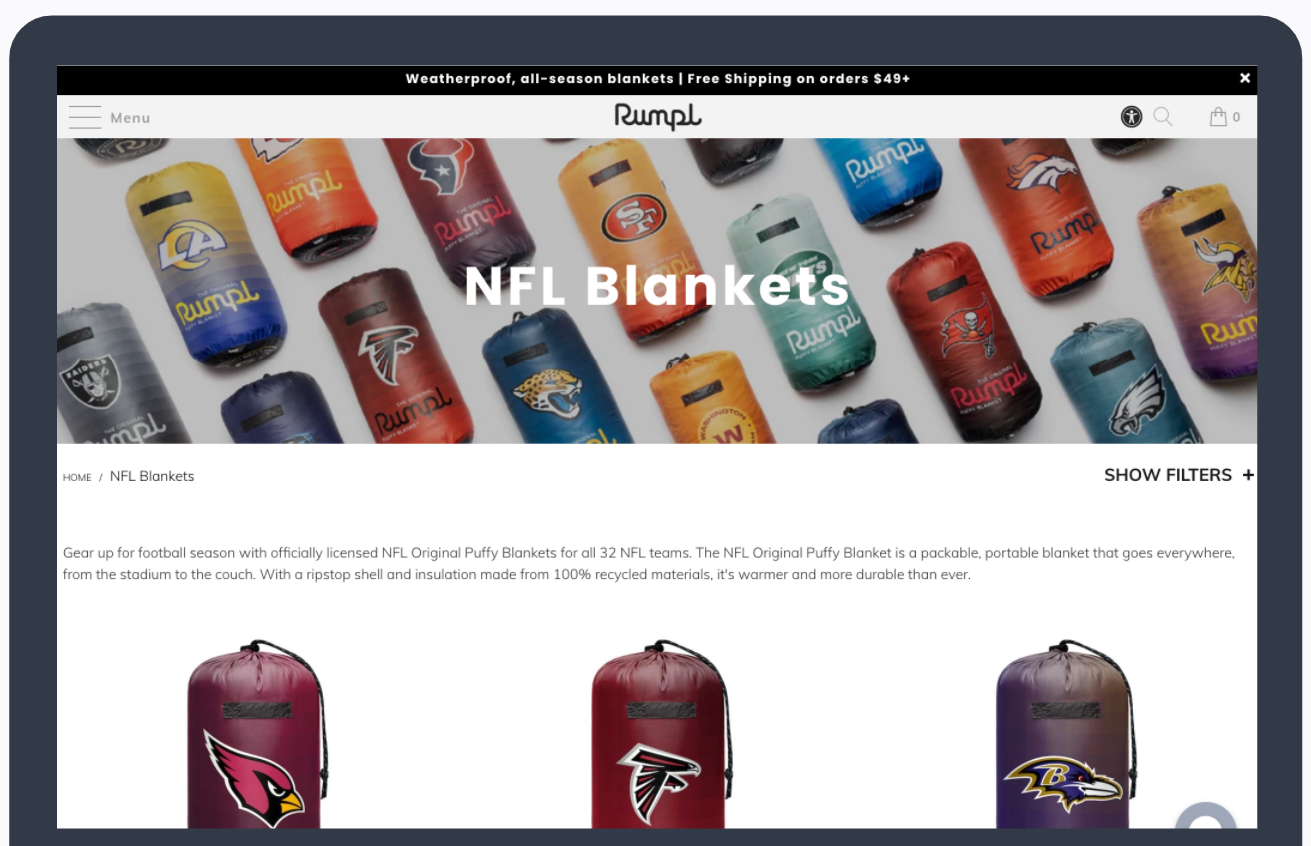 Rumpl - Product Displays