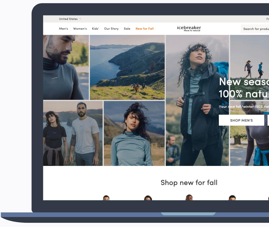 Ice Breaker - E-Commerce Store