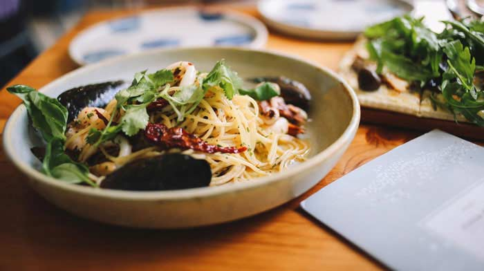 special diet catering - gluten free - pasta