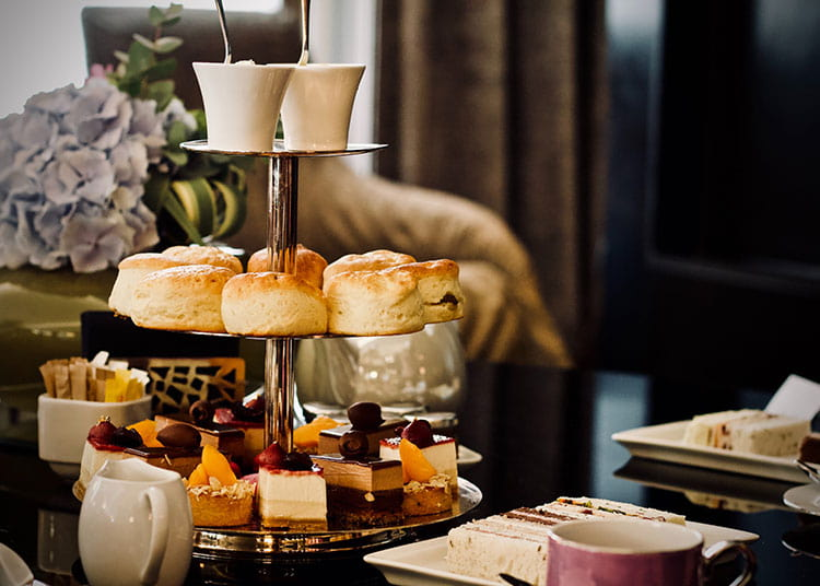 try a high tea for your next morning tea event