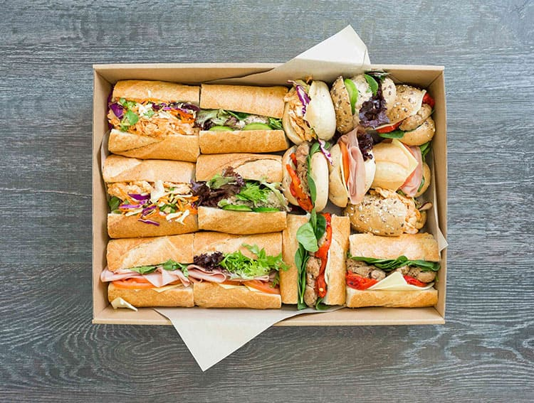 sandwich catering still a classic lunch catering option