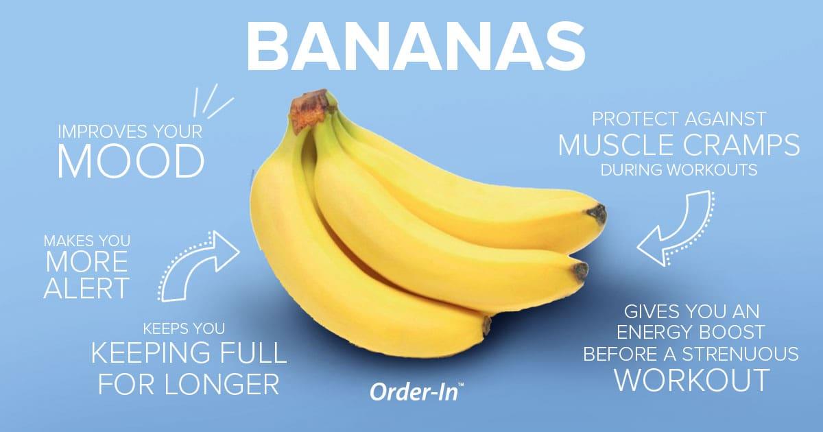 benefits of eating fresh fruit - bananas