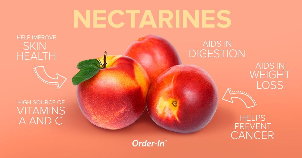 benefits of eating fresh fruit - nectarines
