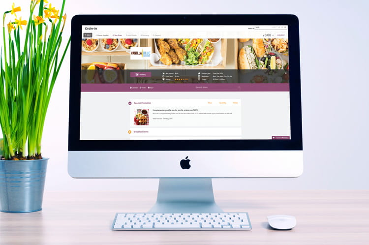 ordering corporate catering made easy online