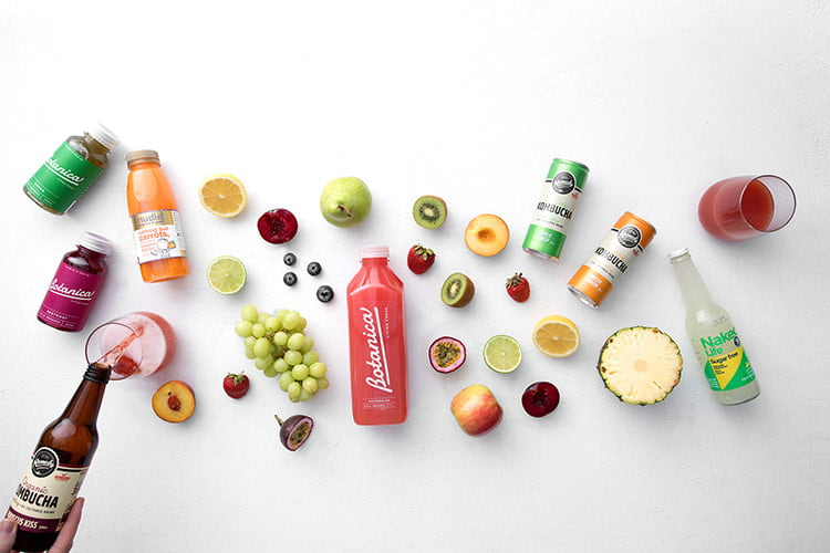healthy office snack ideas - cold-pressed juice or smoothies instead of soda