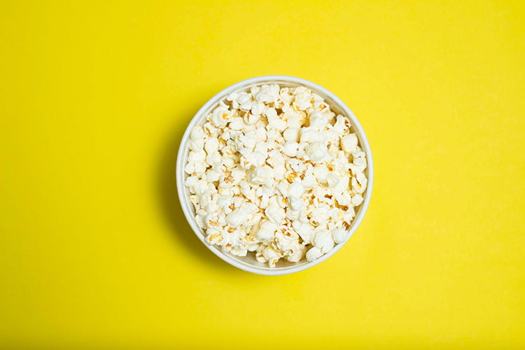 popcorn is a great healthy snack alternative