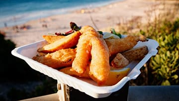 national fast food day ideas - fish and chips