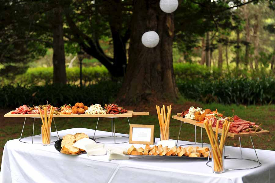 art kitchen corporate catering - anti pasti plank