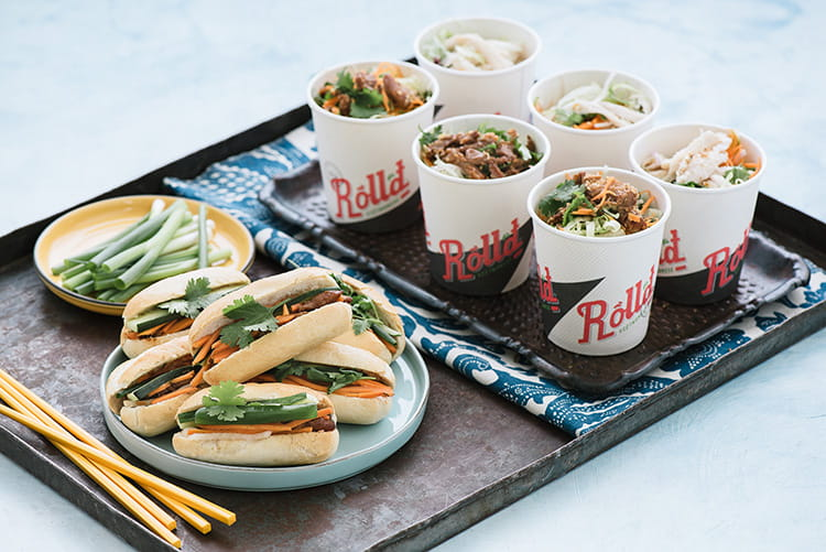 delicious corporate catering from Roll'd