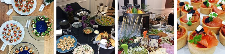 gourmet finger food catering