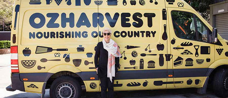 helping the community - ozharvest
