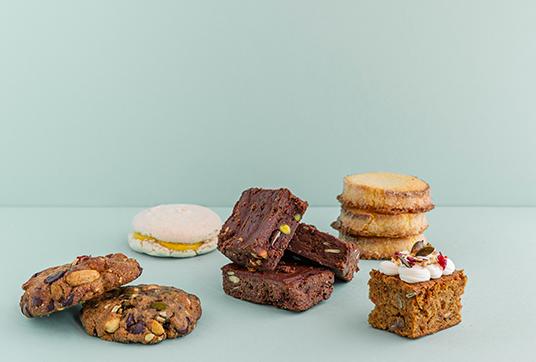 sweet breaks foodiz - carrot cake cookie & others