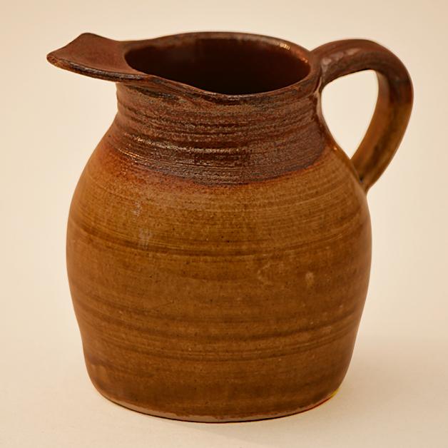 Jug made at Woodside Pottery