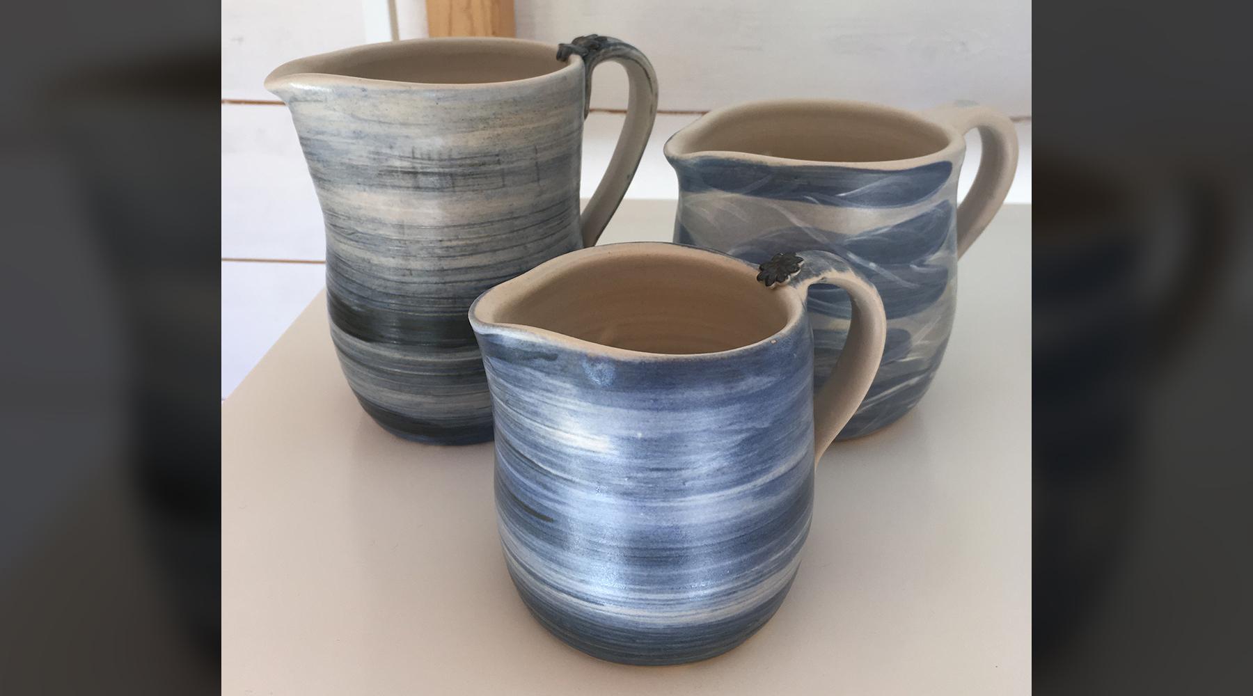 Handmade jugs