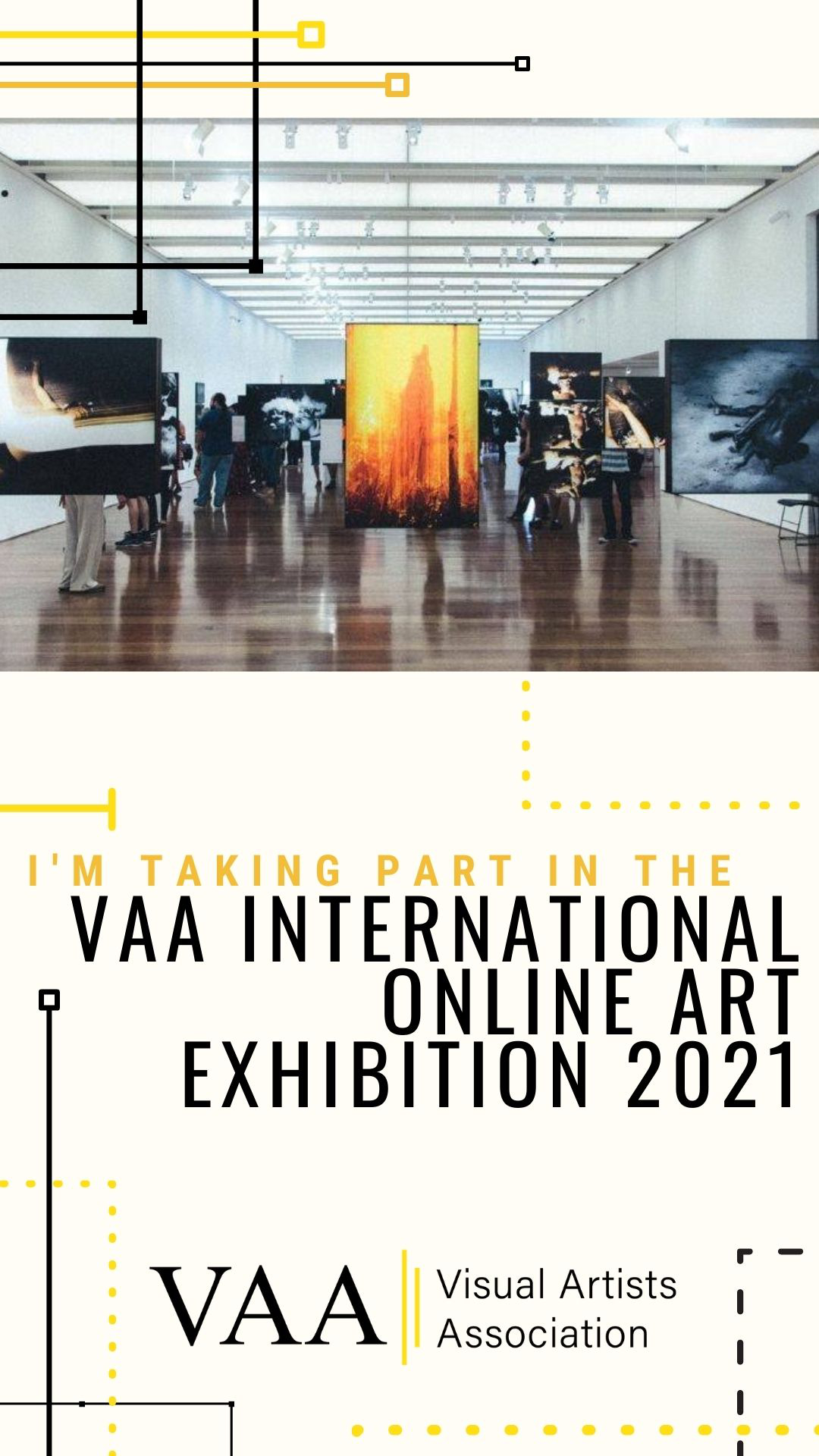 Taking part in the ⟢ VAA Spring Exhibition 2021! ⟣