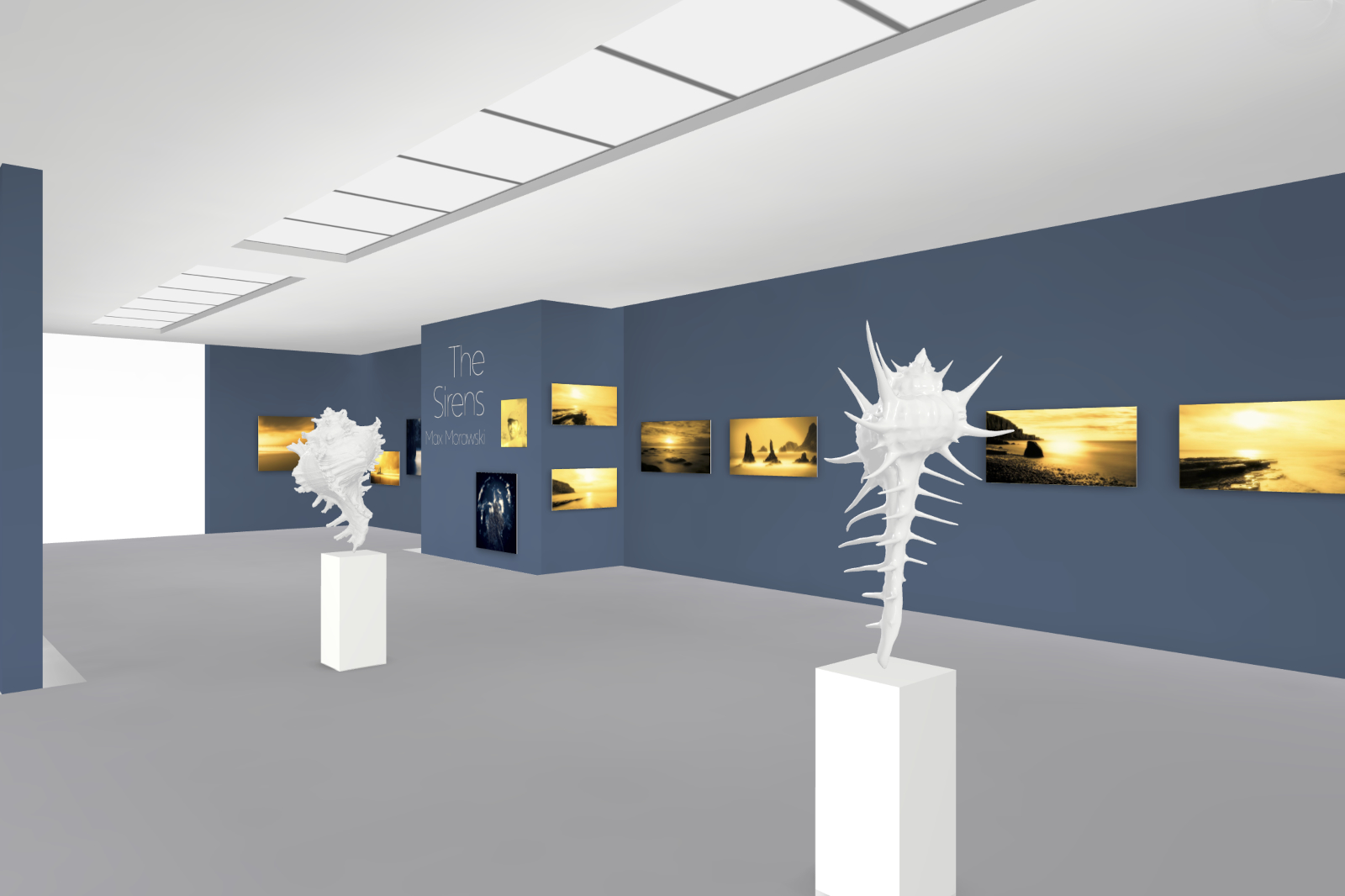 Visiting virtual exhibition 'The Sirens'