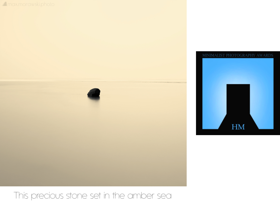 Honourable Mention - This precious stone set in the amber sea