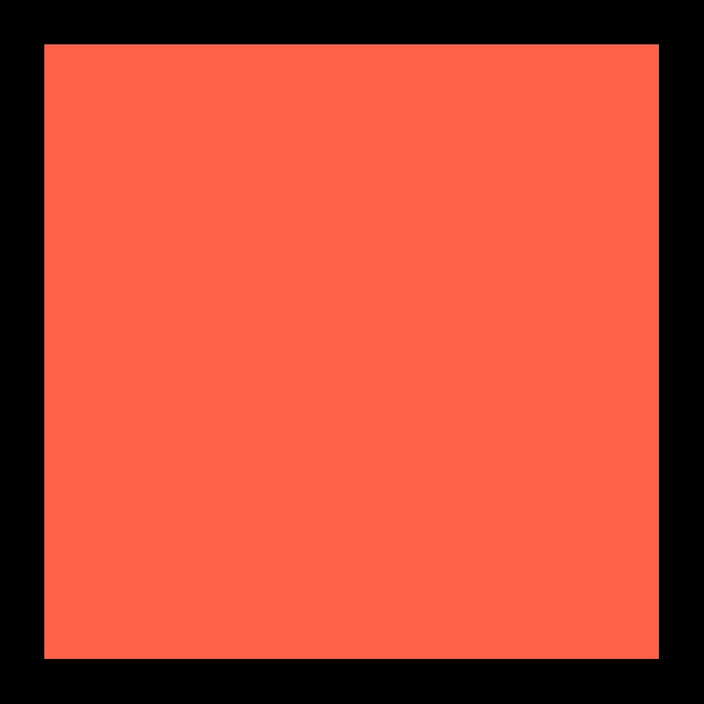 Icon de coin brique rouge