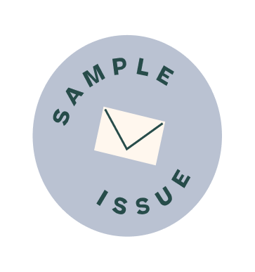 Sample issue badge