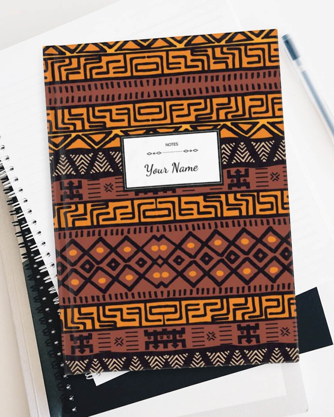 Personal African Print Journal