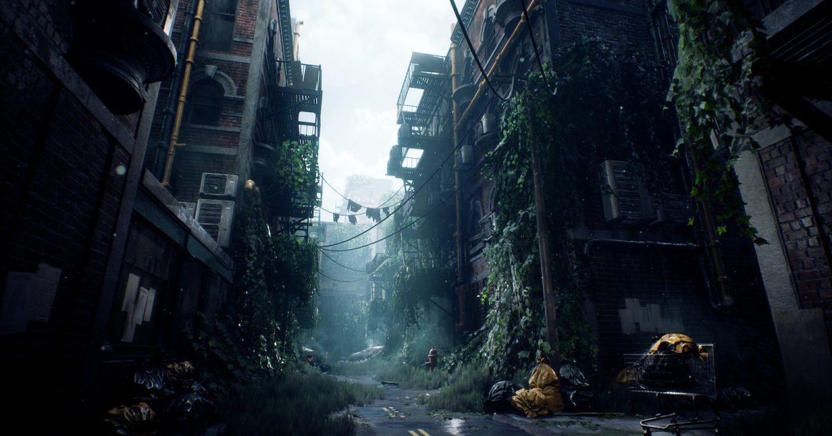 Designing a Gloomy Road Drowning in Ivy Using Maya, Substance & UE4 -