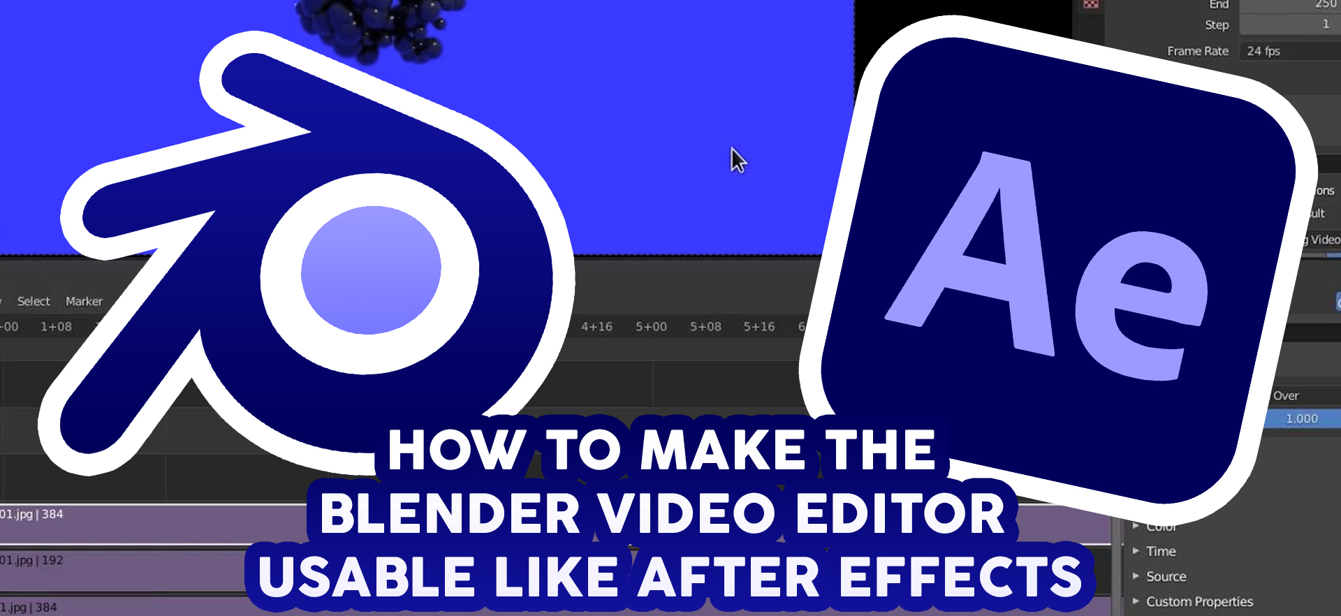 Improving the Blender Video Sequence Editor with the VSE Tools Add-on - BlenderNation