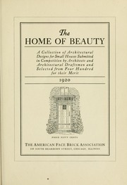 The home of beauty; : American Face Brick Association : Free Downlo... - Internet Archive