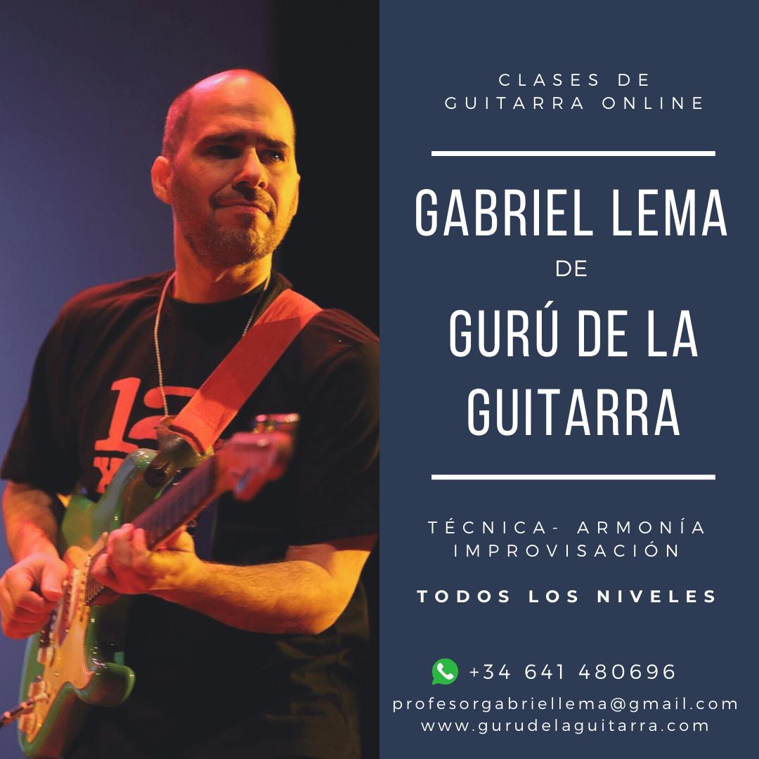 Clases con Gabriel Lema de Gurú de la Guitarra