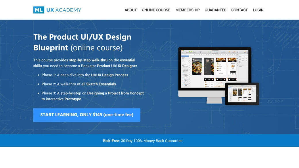 The Product UI/UX design course
