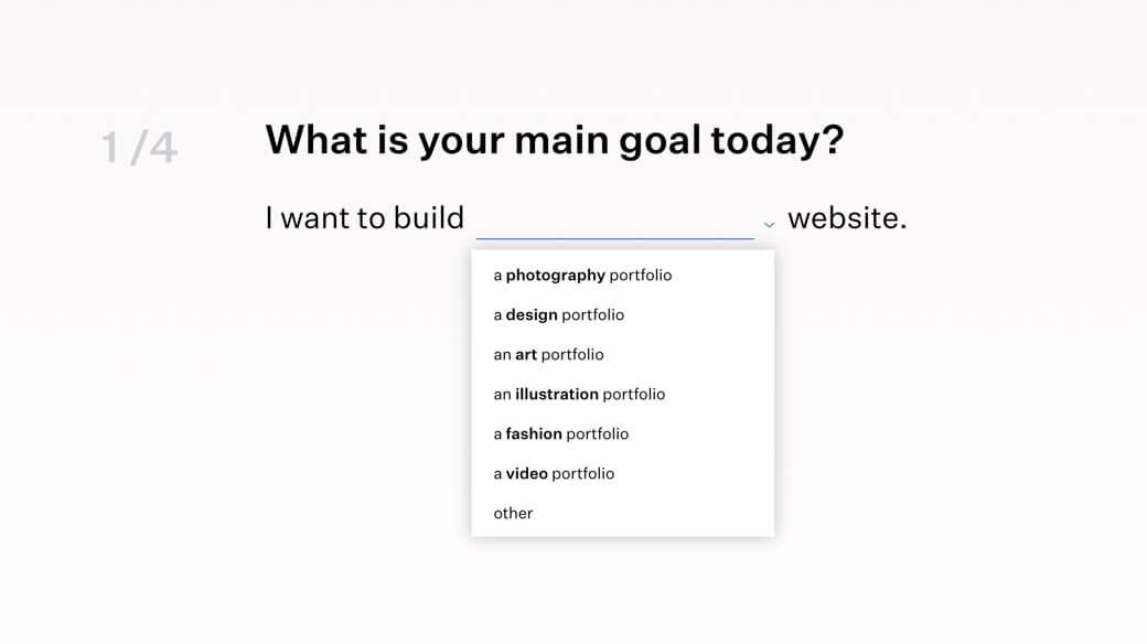 Build portfolio with Format