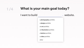 Build portfolio with Format thumbnail