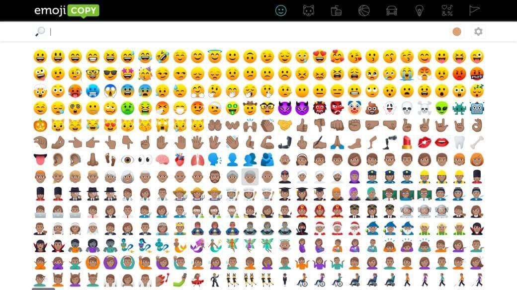 Emojicopy icons