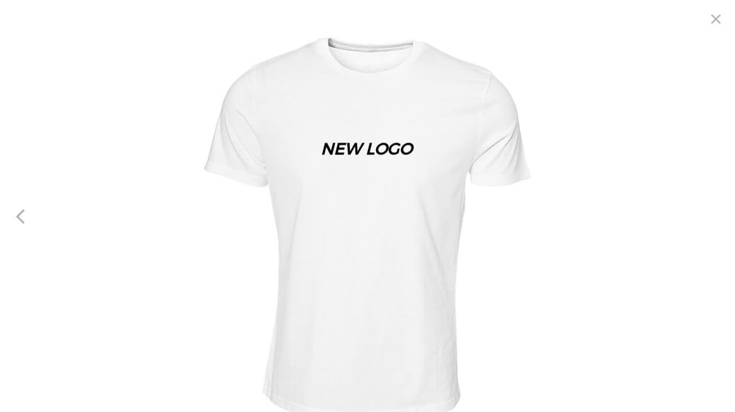 Logo on T-shirt preview