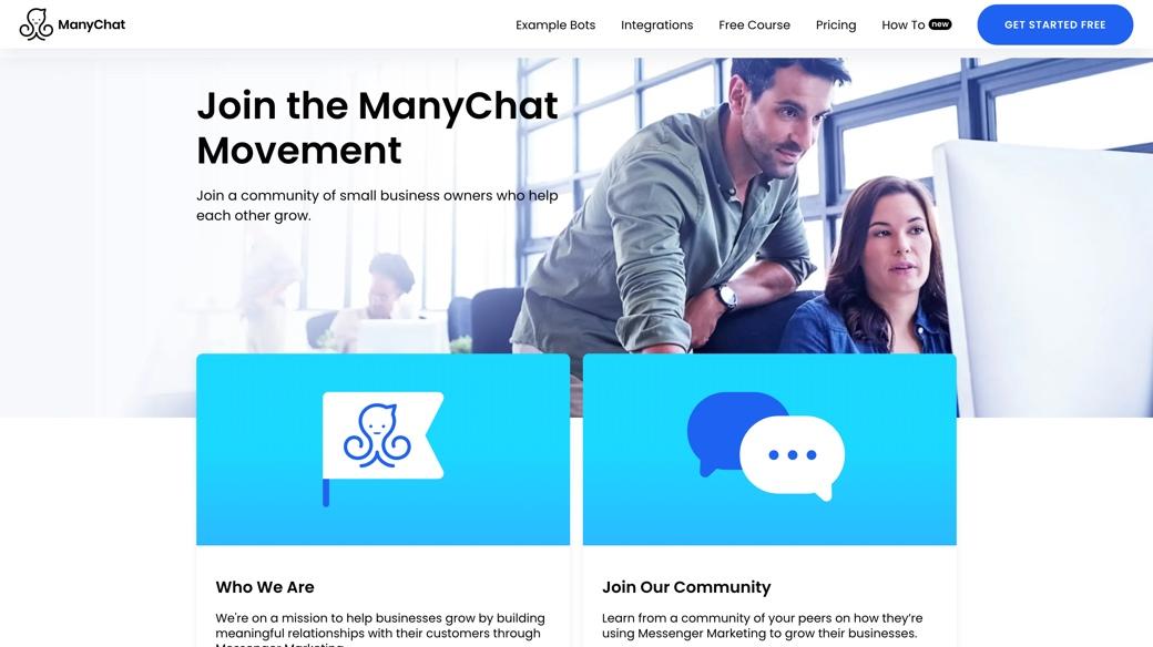 ManyChat movement
