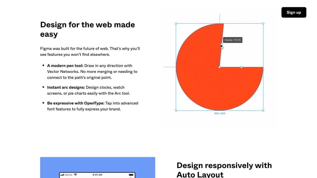 Web design with Figma