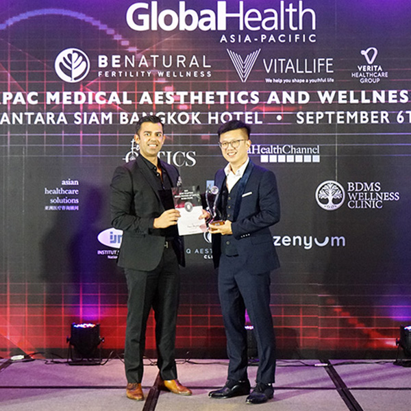 "Amaris B. Clinic has received the recognition as the ""2019 Body Sculpting Provider of the Year in AsiaPacific"" by GlobalHealth Asia-Pacific."