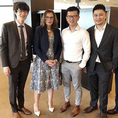 Attended a Radiesse dermal fillers  Workshop held at Camden Medical Center, with guest presenter, Dr Fang-Wen Tseng.