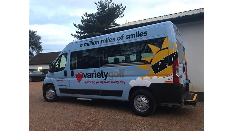 Help raise funds for a new Variety Sunshine Coach