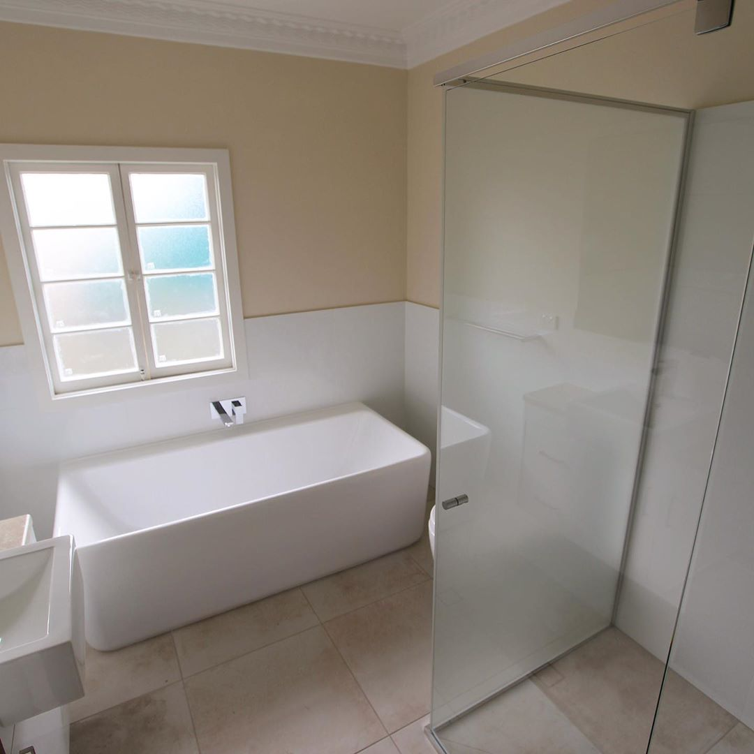 Bathroom Renovation in Brisbane. Large bathroom renovation.