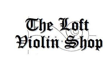 The Loft violin shop logo