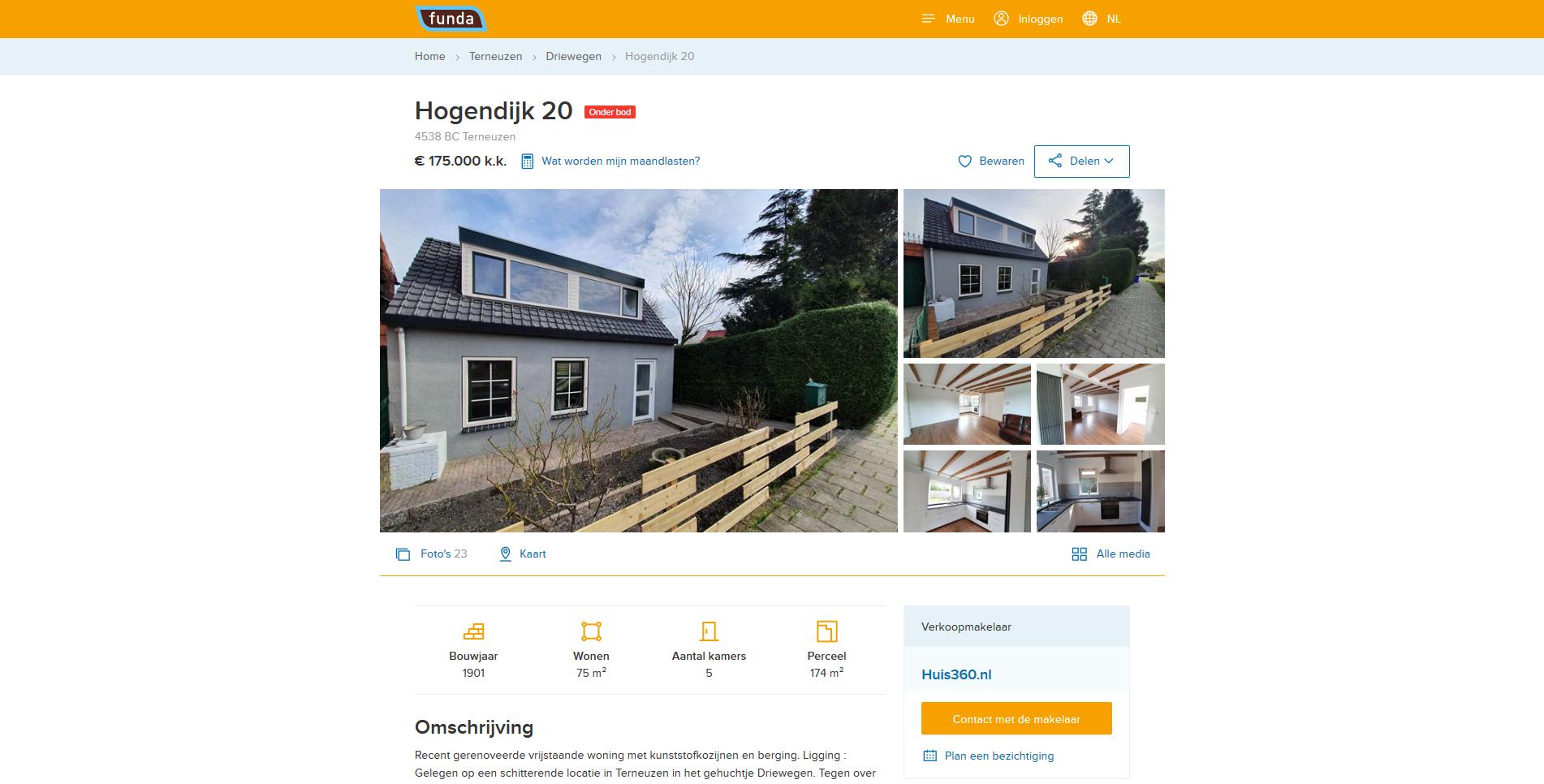 Zelf je huis verkopen op Funda