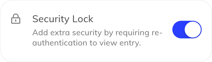 Entry-level security lock cell