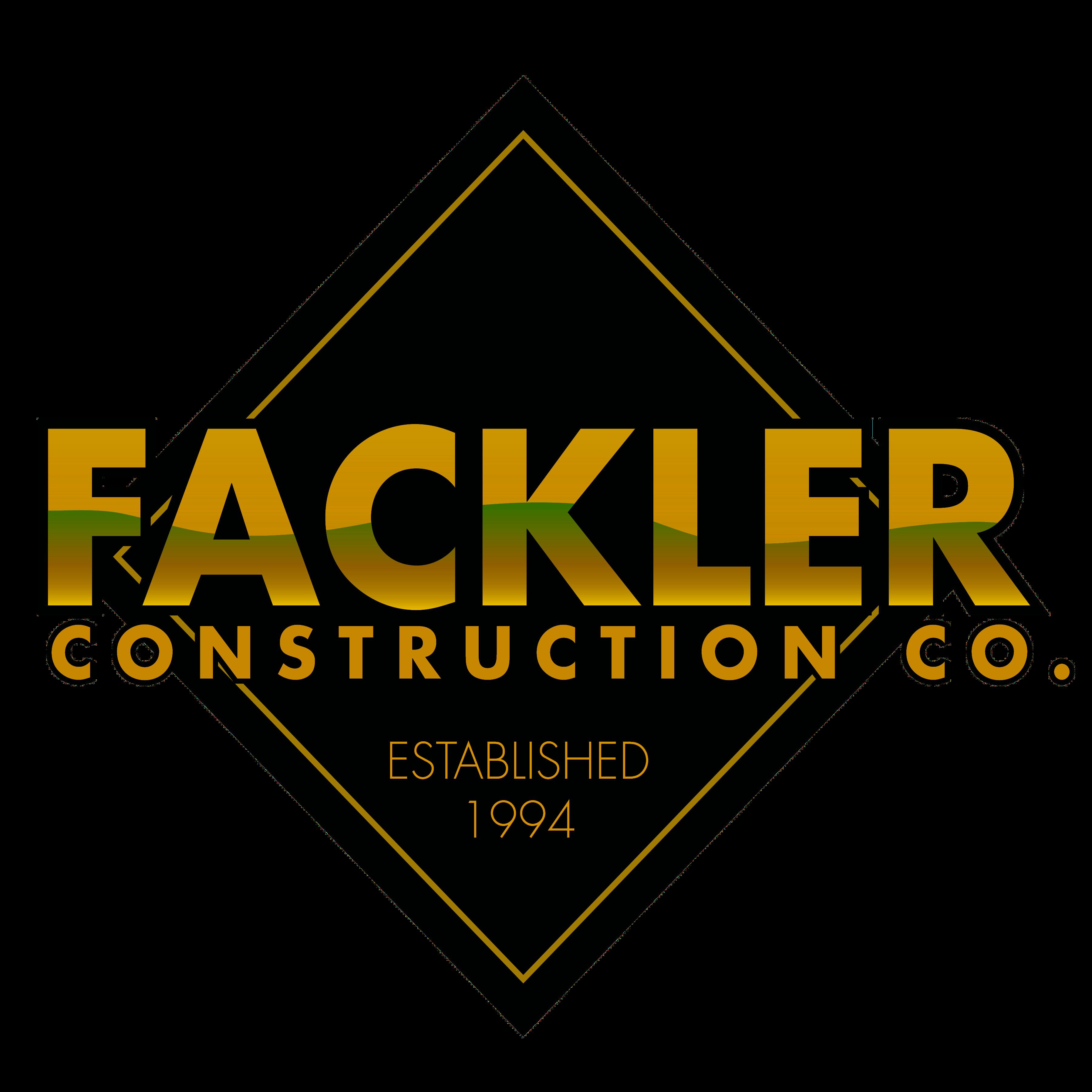 fackler construction co. logo