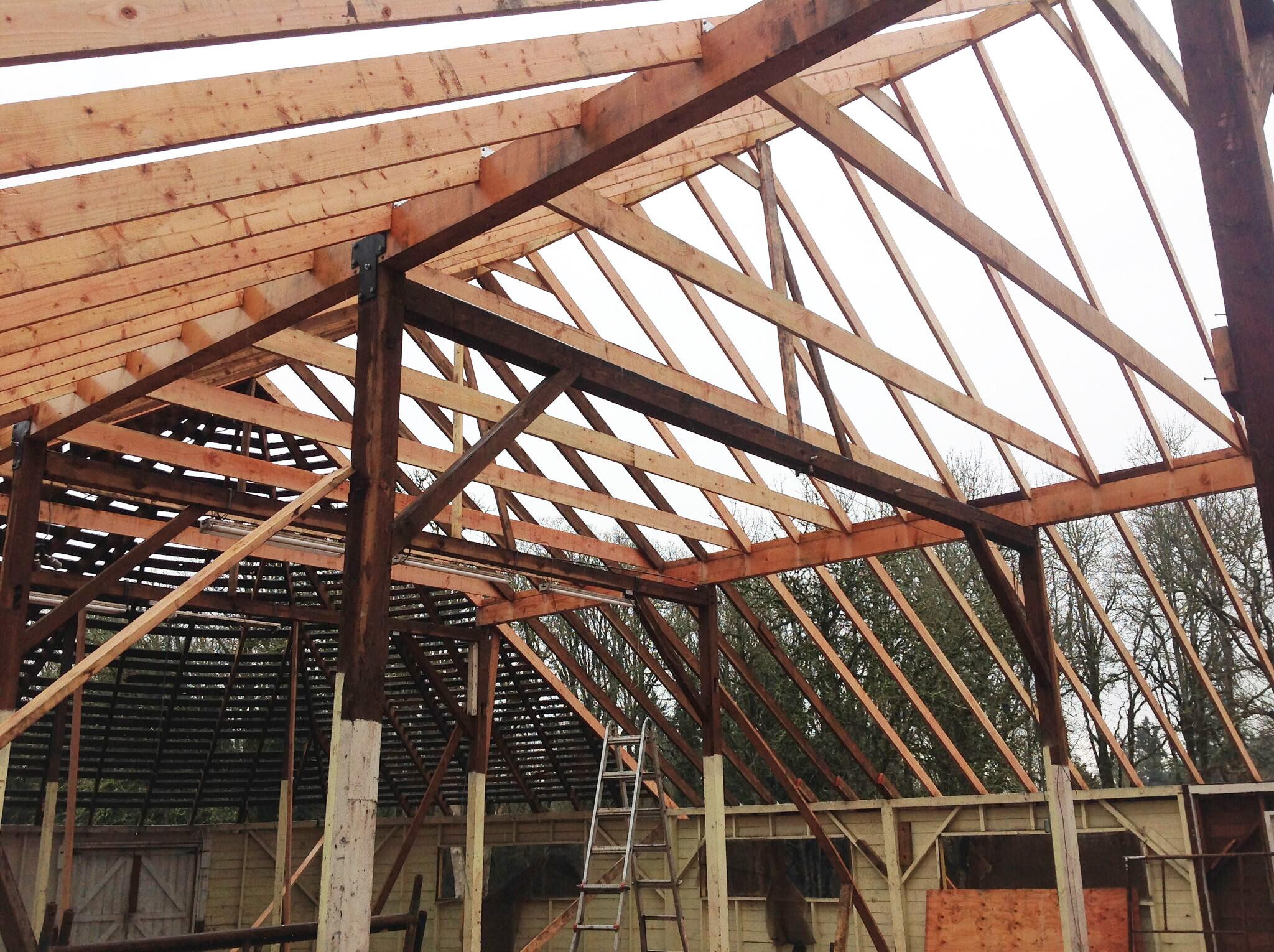 Pioneer Hall Roof Remodel